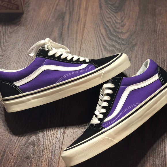 be711551901e71 Vans Old Skool Anaheim 36 DX Royal Purple